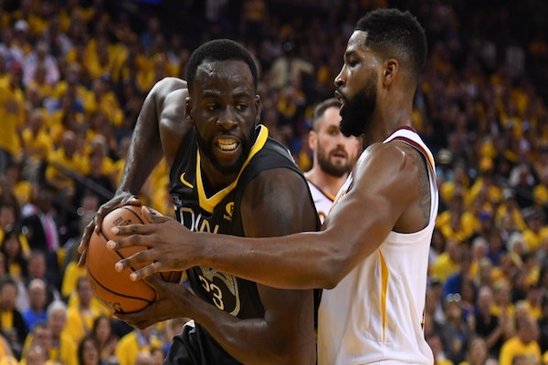 65da7ec9c95 It turns out Tristan Thompson isn t over Draymond Green ignoring his olive  branch after Game 4 of the NBA Finals. While both players were at a  post-ESPY s ...