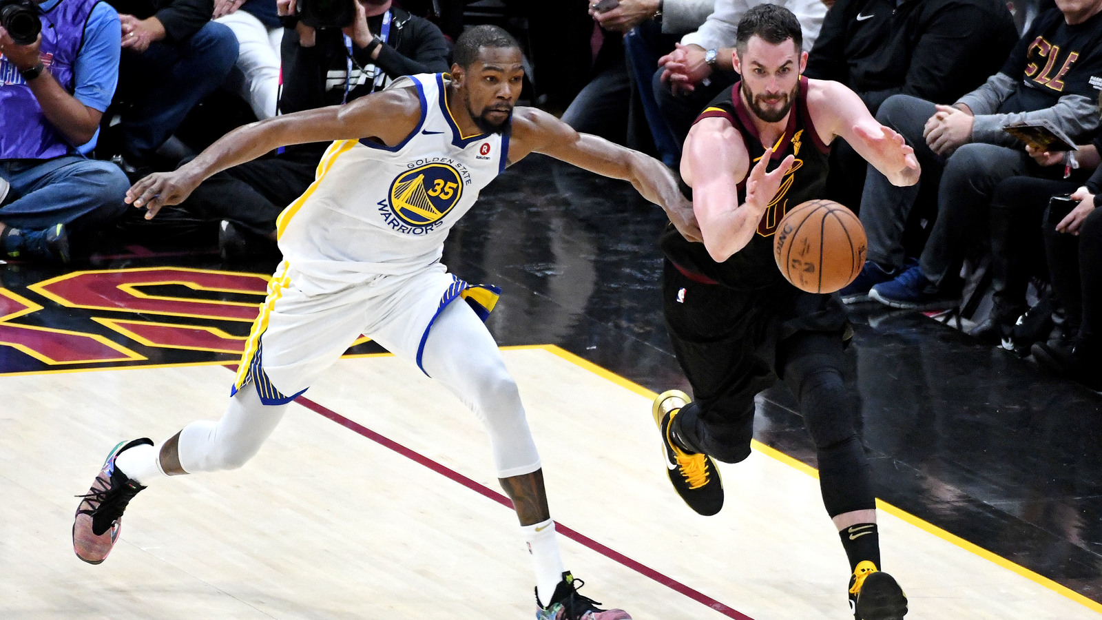 d7e8e951951a Kevin Durant has every intention of returning to the Golden State Warriors  next season. And why wouldn t he  He s about to win his second title in as  many ...
