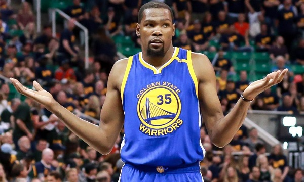 7a10cd4fde29f7 Kevin Durant making the decision to leave the Oklahoma City Thunder in free  agency in 2016 and join the Golden State Warriors was the biggest event in  the ...