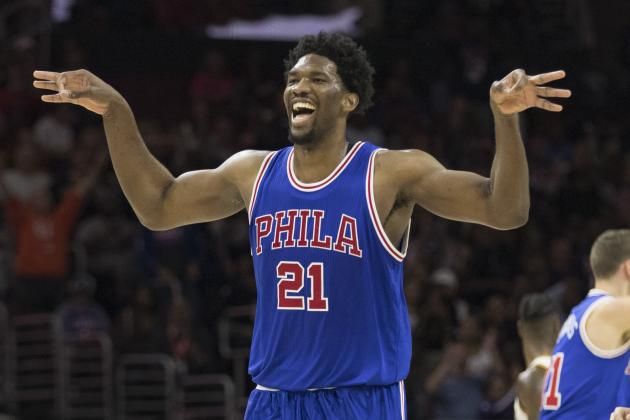 5bebc99cf Joel Embiid is a mesmerizing talent on an NBA court and a constant source  of entertainment