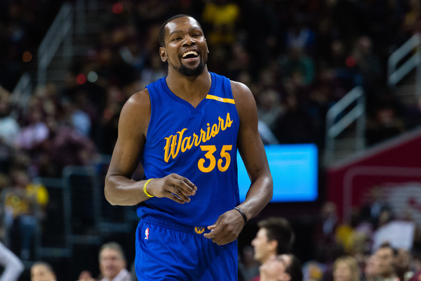 93477a358ef2 Kevin Durant didn t partake in the Golden State Warriors  Game 2 matchup  with the Portland Trail Blazers on Wednesday night. He wasn t alone