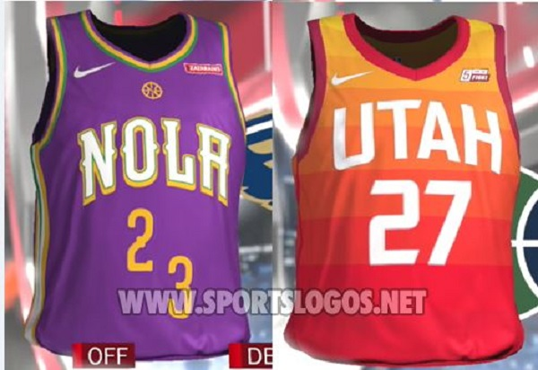 "2ca1f2b5434 NBA ""City"" Jerseys Leak on 2K18"