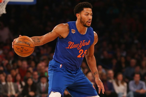 6e22ec46fd2a Derrick Rose doesn t hold any hard feelings toward the New York Knicks  after he was openly dangled in trade negotiations leading into the Feb. 23  deadline.