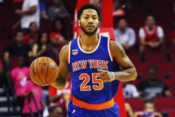 3fb8a5d607d9 Derrick Rose is going to try and give it a go when the New York Knicks  square off against the Indiana Pacers on Tuesday night. Rose has missed  each of the ...