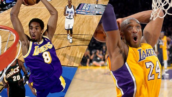 Lakers to Retire Kobe's No  8, No  24 Jersey on December 18