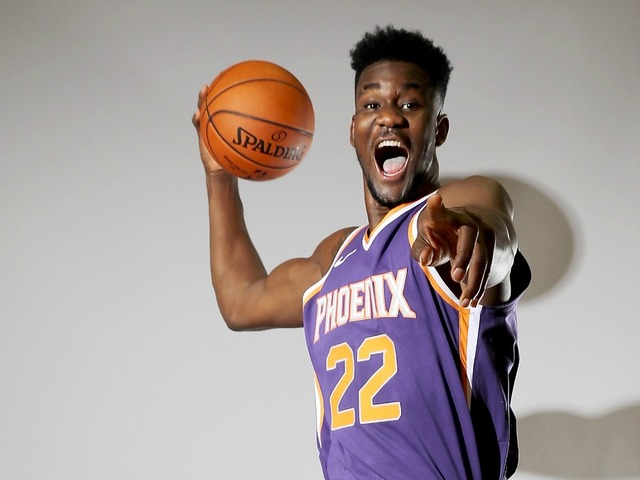 6700e18203e ... years of the Phoenix Suns franchise they had never had the No. 1 pick  in the NBA Draft until the 2018 NBA Draft. They chose Arizona Center DeAndre  Ayton ...