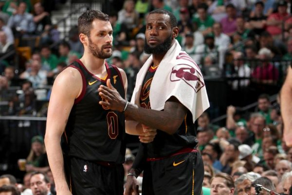 2089e5d06fbe Kevin Love clearly wants LeBron James to remain with the Cleveland  Cavaliers. Well that