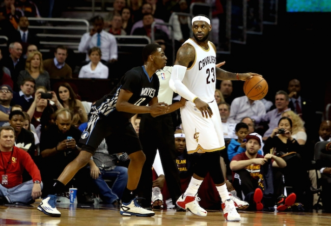 17a0e97b515f LeBron James believes that Andrew Wiggins is better off with the Minnesota  Timberwolves than he ever would have been with the Cleveland Cavaliers.