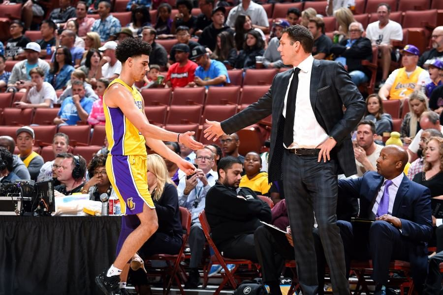 4f5893fb2 LaVar Ball Says Lakers Coaching Staff Doesn t  Know How to Coach ...