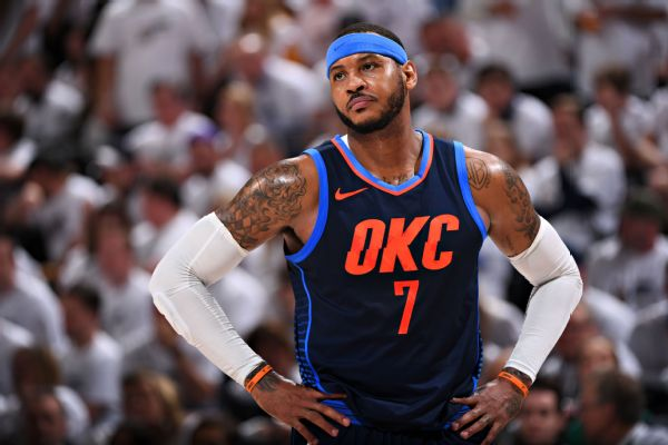 f73310b5f3a A real shocker here  Carmelo Anthony does not sound like he s willing to  come off the bench for the Houston Rockets. Not yet anyway.