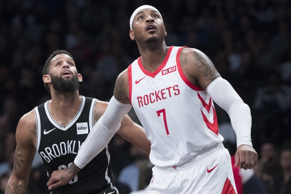 2c4a29555bd2 It remains to be seen where Carmelo Anthony will end up after he s  officially done with the Houston Rockets. It s not even clear when he ll  actually be ...
