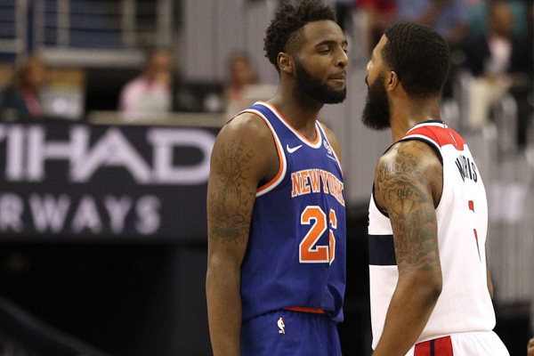 757dc84bcb39 Markieff Morris and his temper made their preseason debut during the  Wizards  exhibition opener against the New York Knicks.
