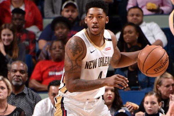 dcf004365 New Orleans Pelicans point guard Elfrid Payton is scheduled to undergo  surgery on a fractured pinkie. His recovery is expected to take about six  weeks.