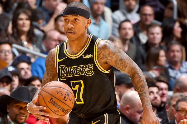 378aa3113 Isaiah Thomas is happy to be a member of the Los Angeles Lakers…for now.  After this season