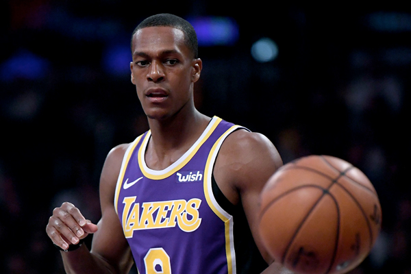 e7f1647cc Rajon Rondo  Out a Few Weeks  With a Broken Hand