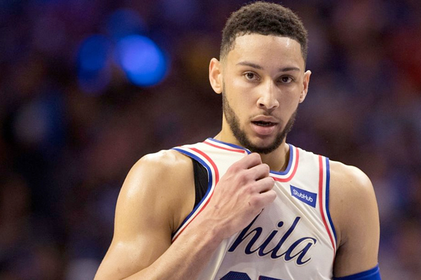 c8c550c83 Ben Simmons Says Beating Boston Celtics is Philadelphia 76ers  Next Goal