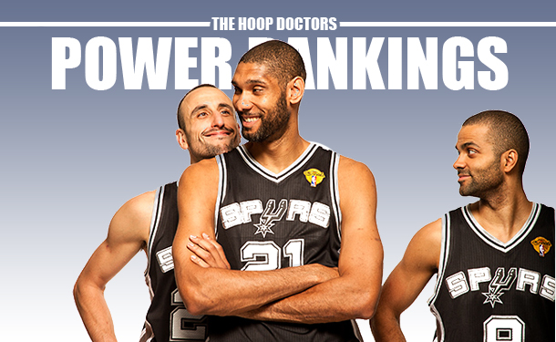 NBA Power Rankings  Psst…The Spurs Are Still Here 3b8390953