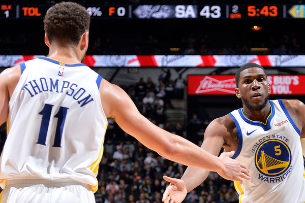 706940eeff4 The Golden State Warriors went up against the Denver Nuggets on Tuesday and  lit it up. The Warriors scored 51 points in the first quarter